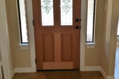 Reed Plan Front Door Interior